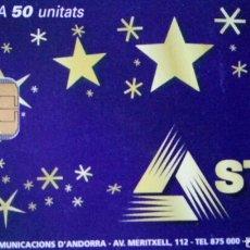 Tarjetas telefónicas de colección: TARJETA TELEFÓNICA STA, ANDORRA. Lote 83542676