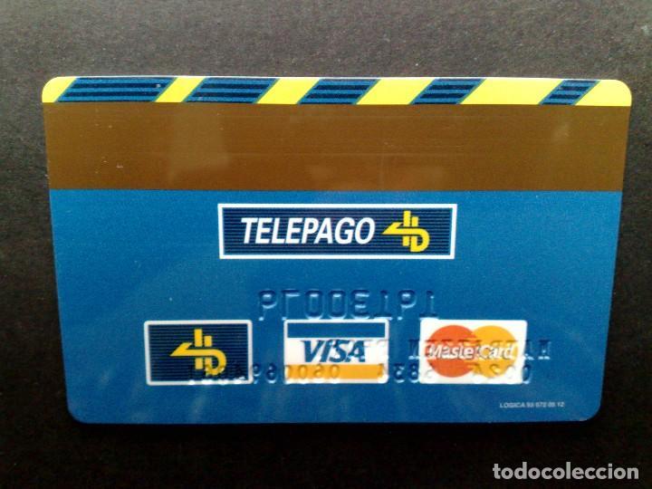 Tarjetas telefónicas de colección: TARJETA BANCO DE CREDITO BALEAR-EMPRESA-TOTALIZACIÓN CIERRE-TELEPAGO-VISA-MASTERCARD-4B - Foto 2 - 86093280