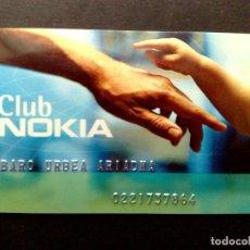Tarjetas telefónicas de colección: TARJETA PERSONAL-CLUB NOKIA. Lote 86283748