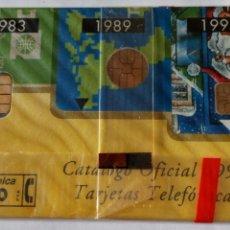 Tarjetas telefónicas de colección: TARJETA TELEFÓNICA DE 100 PTA. CABITEL CLUB DEL COLECCIONISTA. CATÁLOGO OFICIAL 1994. CON BLISTER. Lote 87022052