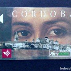 Tarjetas telefónicas de colección: ESPAÑA:CP-022:TARJETA TELEFONICA-¡¡ERROR!!,CORDOBA-SIN CHIP Y SIN NºCONTROL DORSO.. Lote 87714648
