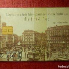 Tarjetas telefónicas de colección: TARJETA TELEFÓNICA NUEVA - CARDEX´97 - 0997 - 1997 - TIRADA 4.600 - CON PRECINTO. Lote 89529660