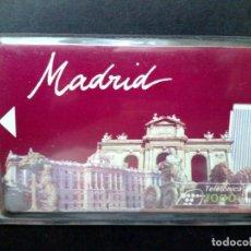 Tarjetas telefónicas de colección: ESPAÑA:P-010:TARJETA TELEFONICA-PRUEBA NUMERADA ¡¡SIN CHIP!! DE MADRID. Lote 94363994