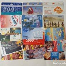 Tarjetas telefónicas de colección: CONJUNTO DE TARJETAS TELEFONICAS VARIOS PAISES,18. . Lote 95392851