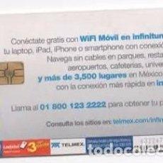 Tarjetas telefónicas de colección: TARJETA TELEFÓNICA LADATEL, MÉJICO. Lote 96020843