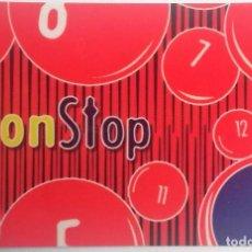 Tarjetas telefónicas de colección: TARJETA TELEFÓNICA NON STOP . Lote 96021979