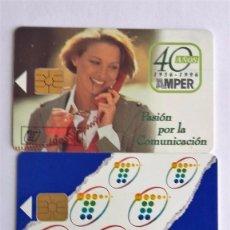 Tarjetas telefónicas de colección: 3 TARJETAS TELEFÓNICA . Lote 96022911