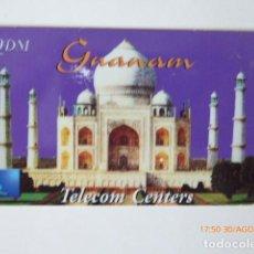 Tarjetas telefónicas de colección: TARJETA TELEFONICA USADA, TELECOM CENTERS. Lote 96694547