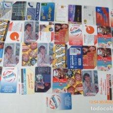 Tarjetas telefónicas de colección: 37 TARJETAS TELEFONICAS USADAS, EXTRANJERAS. . Lote 96826427