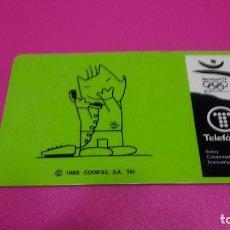 Tarjetas telefónicas de colección: TARJETA DE TELEFONICA. Lote 98034099
