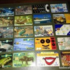 Tarjetas telefónicas de colección: LOTE 20 TARJETAS TELEFONICA ESPAÑA. Lote 98214671