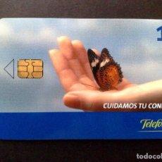 Tarjetas telefónicas de colección: ESPAÑA:TARJETA TELEFONICA-CUIDAMOS TU CONFIANZA,NOMINAL 1€,AÑO 2005-USADO. Lote 98441727