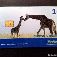 Tarjetas telefónicas de colección: ESPAÑA:TARJETA TELEFONICA-CUIDAMOS TU CONFIANZA,NOMINAL 1€,AÑO 2006-USADO. Lote 98441891