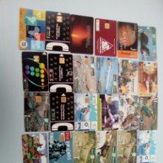 Tarjetas telefónicas de colección: LOTE 30 TARJETA TELEFONICA, VARIAS REPETIDAS, DIFERENTES ESTADOS , VER FOTOS . Lote 98838343