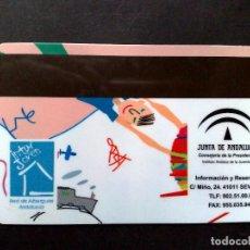 Tarjetas telefónicas de colección - TARJETA PERSONAL-RED ESPAÑOLA DE ALBERQUES JUVENILES,REAJ.,JUNTA DE ANDALUCIA - 99363895