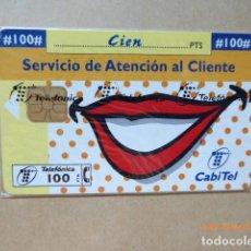 Tarjetas telefónicas de colección: TARJETA TELEFONICA, , PRECINTADA , TIRADA 8,000. Lote 99379479