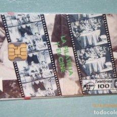 Tarjetas telefónicas de colección: TARJETA TELEFONICA, PRECINTADA , NUEVA, TIRADA 4,100. Lote 99380259