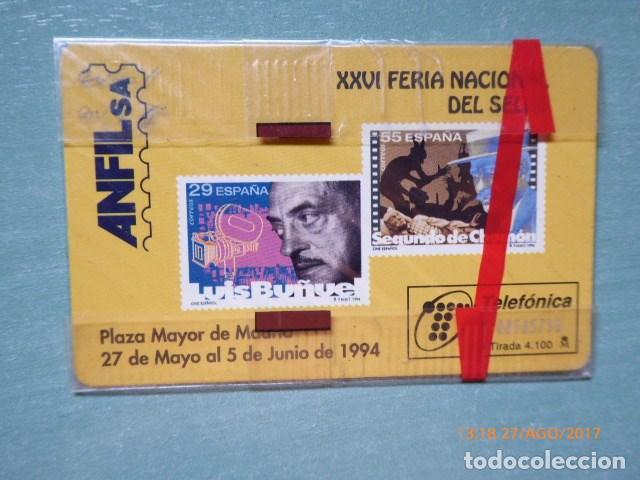 Tarjetas telefónicas de colección: tarjeta telefonica, precintada , nueva, tirada 4,100 - Foto 2 - 99380259