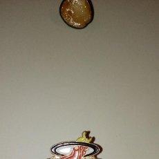 Tarjetas telefónicas de colección: CAJ-B97KJ PIN PINS RETRO ANTIGUO MIAMI HEAT BASKETBALL CLUB . Lote 100766903