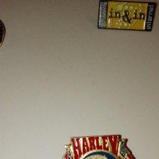 Tarjetas telefónicas de colección: CAJ-B97KJ PIN PINS RETRO ANTIGUO HARLEY . Lote 100767355