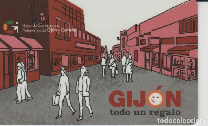 TARJETA PLASTICO CON CHIP GIJON (Coleccionismo - Tarjetas Telefónicas)