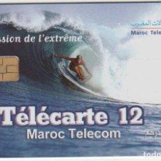 Tarjetas telefónicas de colección: TARJETA TELEFONO SURF. Lote 222881365