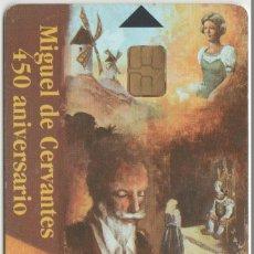 Cartões de telefone de coleção: TARJETA TELEFONO CERVANTES. Lote 210364188