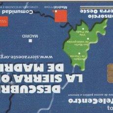 Tarjetas telefónicas de colección: TARJETA TELEFONO MADRID. Lote 218590710
