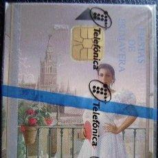 Tarjetas telefónicas de colección: CP 88 - SEVILLA FIESTA DE PRIMAVERA - NUEVA CON PRECITO - A046. Lote 103629435
