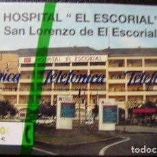 Tarjetas telefónicas de colección: CP 174 - HOSPITAL EL ESCORIAL - NUEVA CON PRECITO - A049. Lote 103630287