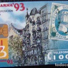 Tarjetas telefónicas de colección: P 11 - FILABARNA 93 - TIRADA 2.000 - NUEVA -- TARJETA VENDIDA SIN PRECINTO - A057. Lote 103711751