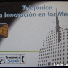 Tarjetas telefónicas de colección: P 017 - LA INNOVACION DE LOS MEDIOS - TIRADA 2.000 - NUEVA TARJETA VENDIDA SIN PRECINTO - A059. Lote 103712911