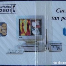 Tarjetas telefónicas de colección: P 19 - TROPY - TIRADA 2.000 - NUEVA CON PRECINTO - A060. Lote 103713515