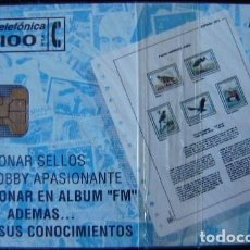 Tarjetas telefónicas de colección: P 25 FILATELIA MARTINEZ - TIRADA 2.000 - NUEVA CON PRECINTO - A062. Lote 103715079