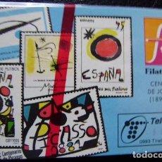 Tarjetas telefónicas de colección: P 26 FILATELIA 93 - TIRADA 2.000 - NUEVA CON PRECINTO ( VER FOTO DEL ANVERSO ) - A063. Lote 103715783