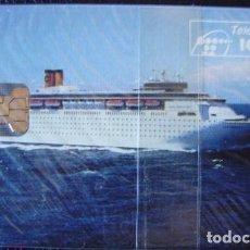 Tarjetas telefónicas de colección: P 47 - COSTA CRUCERO - TIRADA 2500 - NUEVA CON PRECINTO - A068. Lote 103718511