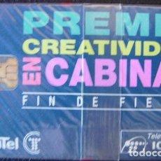 Tarjetas telefónicas de colección: P 54 - PREMIO CREATIVIDAD - TIRADA 2500 - NUEVA CON PRECINTO - A072. Lote 103779419
