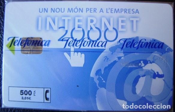 P 422 - INTERNET 2000 TIRADA 2500 - NUEVA CON PRECINTO - A202 (Coleccionismo - Tarjetas Telefónicas)