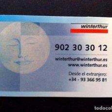 Tarjetas telefónicas de colección: TARJETA,SOCIO WINTERTHUR,ASISTENCIA. Lote 106138823