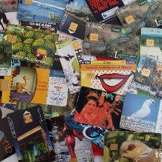 Tarjetas telefónicas de colección: LOTE DE NUMEROSAS TARJETAS DE RECARGA TELEFONICA. VER FOTOS.. Lote 110437499