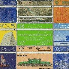 Tarjetas telefónicas de colección: LOTE 9 TARJETAS TELEFONICAS. Lote 112636207