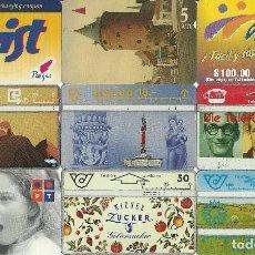 Tarjetas telefónicas de colección: LOTE 9 TARJETAS TELEFONICAS. Lote 112869739