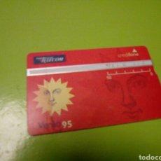 Tarjetas telefónicas de colección: TARJETA TELEFONICA PORTUGAL TELECOM VERAO 95. Lote 113428168