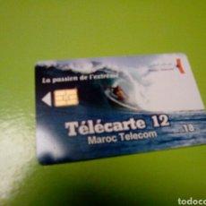 Tarjetas telefónicas de colección: TARJETA TELEFONICA MARRUECOS MAROC TELECOM 18 DH. Lote 113428464