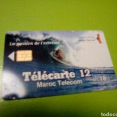 Tarjetas telefónicas de colección: TARJETA TELEFONICA MARRUECOS MAROC TELECOM 18 DH. Lote 113428519