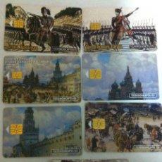 Tarjetas telefónicas de colección: TARJETAS TELEFÓNICAS RUSIA - 7. Lote 116911759