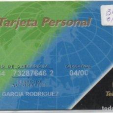 Tarjetas telefónicas de colección: TARJETA PERSONAL. Lote 118065871