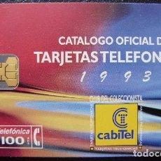 Tarjetas telefónicas de colección: CLUB TARJETAS - TIRADA 3000 - P 57 - USADA 1ª CALIDAD - A520. Lote 118963327