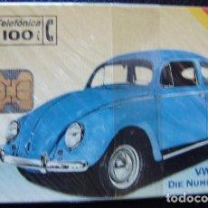Tarjetas telefónicas de colección: VW KAFER I 05/94 - P 73 - USADA 1ª CALIDAD - A524. Lote 118966759