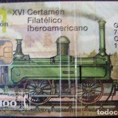 Tarjetas telefónicas de colección: XVI CERTAMEN FILATELICO - P 90 - USADA 1ª CALIDAD - A527. Lote 118968455